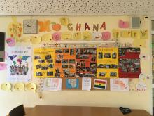 Post aus Ghana
